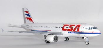 Airbus A320 CSA Czech Airlines Inflight 200 Metal Model Scale 1:200 IF320OK001 E-
